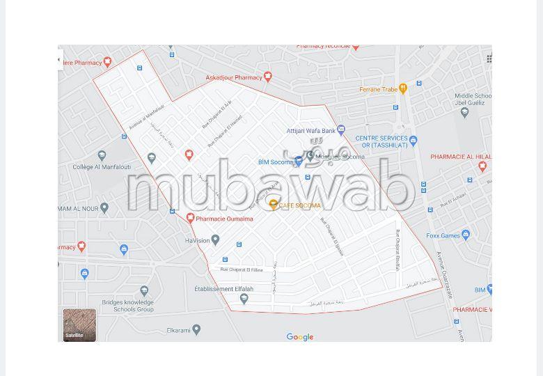 Piso en alquiler en Azli. Pequeña superficie 145 m².