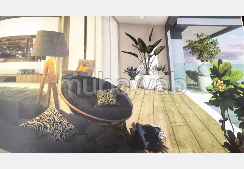Bonito piso en venta en Malabata. 1 Habitación. Residencia con piscina.