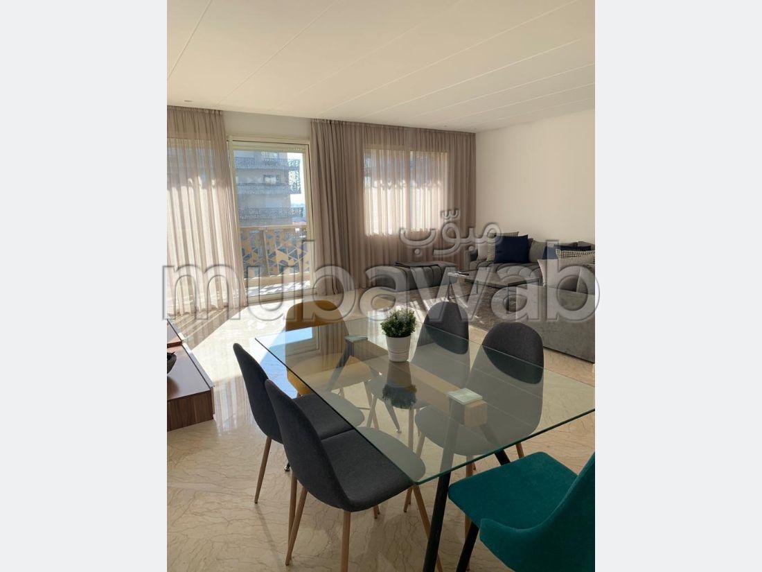 Bel appartement en location meublé à Casablanca Finance City CFC
