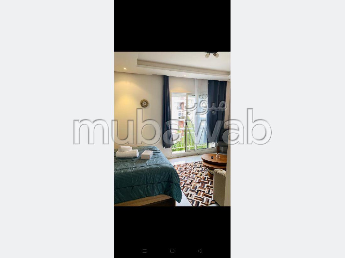 Louez cet appartement à Riyad. Surface totale 50 m². Bien meublé.