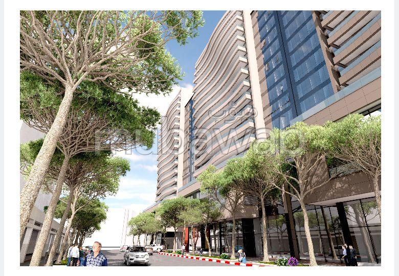 بيع شقة ب طنجة سيتي سنتر. المساحة الكلية 124 م².