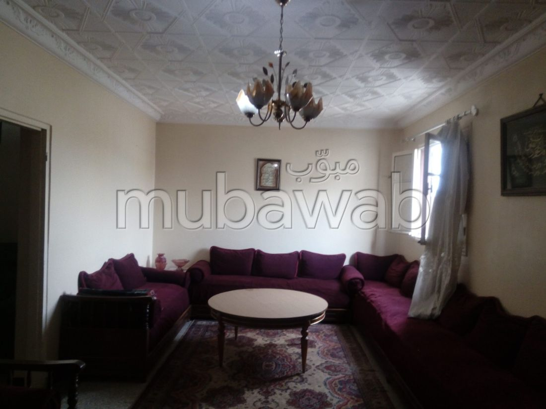 Very nice house for sale in Hay Hassani. 6 comfortable rooms. Robust door, General satellite dish system.