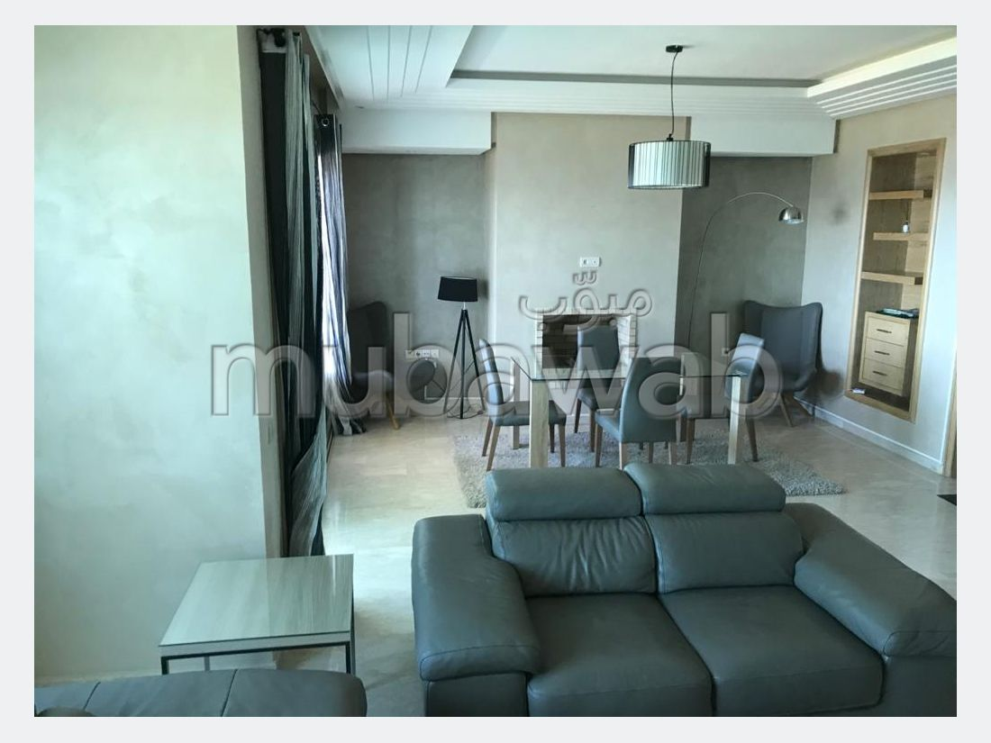 Apartment for rent in manar. Area of 135 m². Dressing room.