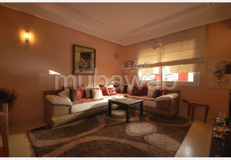 Lovely apartment for rent in Hay Houda. Dimension 100 m².