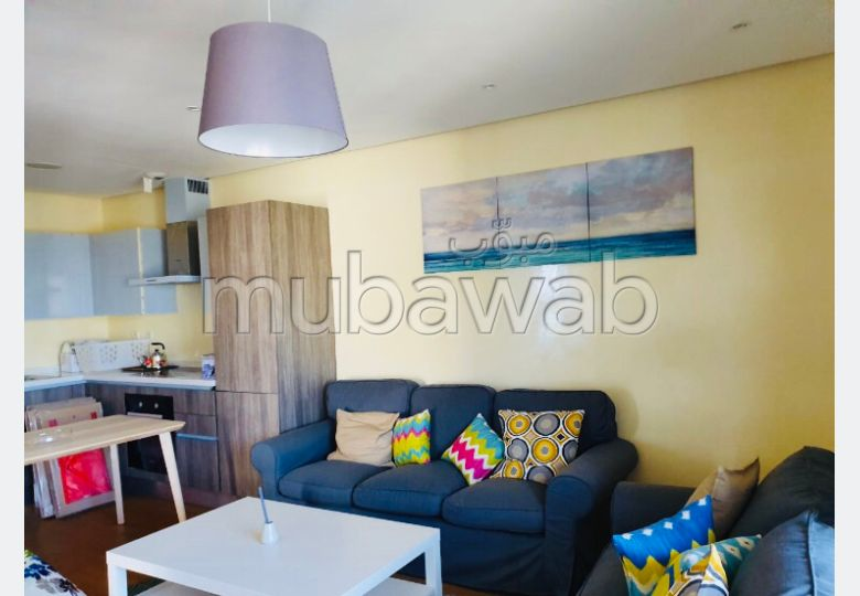 Top studio meublé vue sur mer à Marina Aindiab