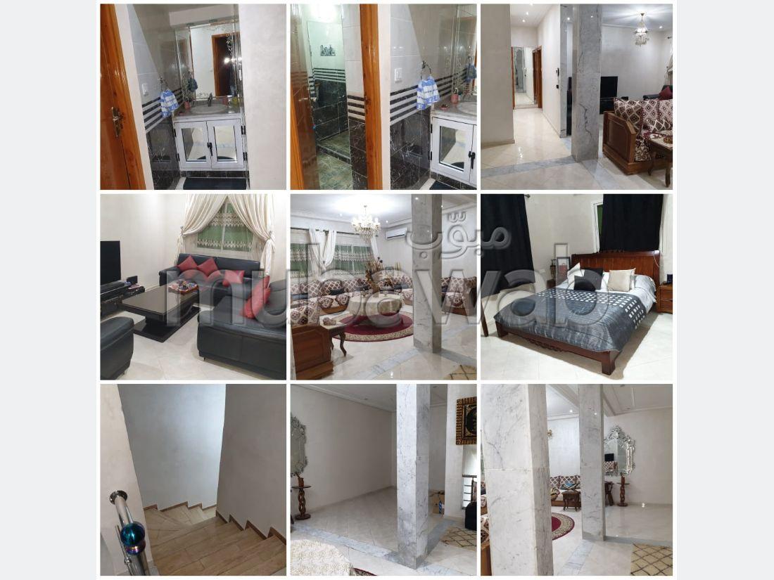 شقة رائعة للبيع بفاس. 7 غرف جميلة. ، دوبليكس إقامة آمنة