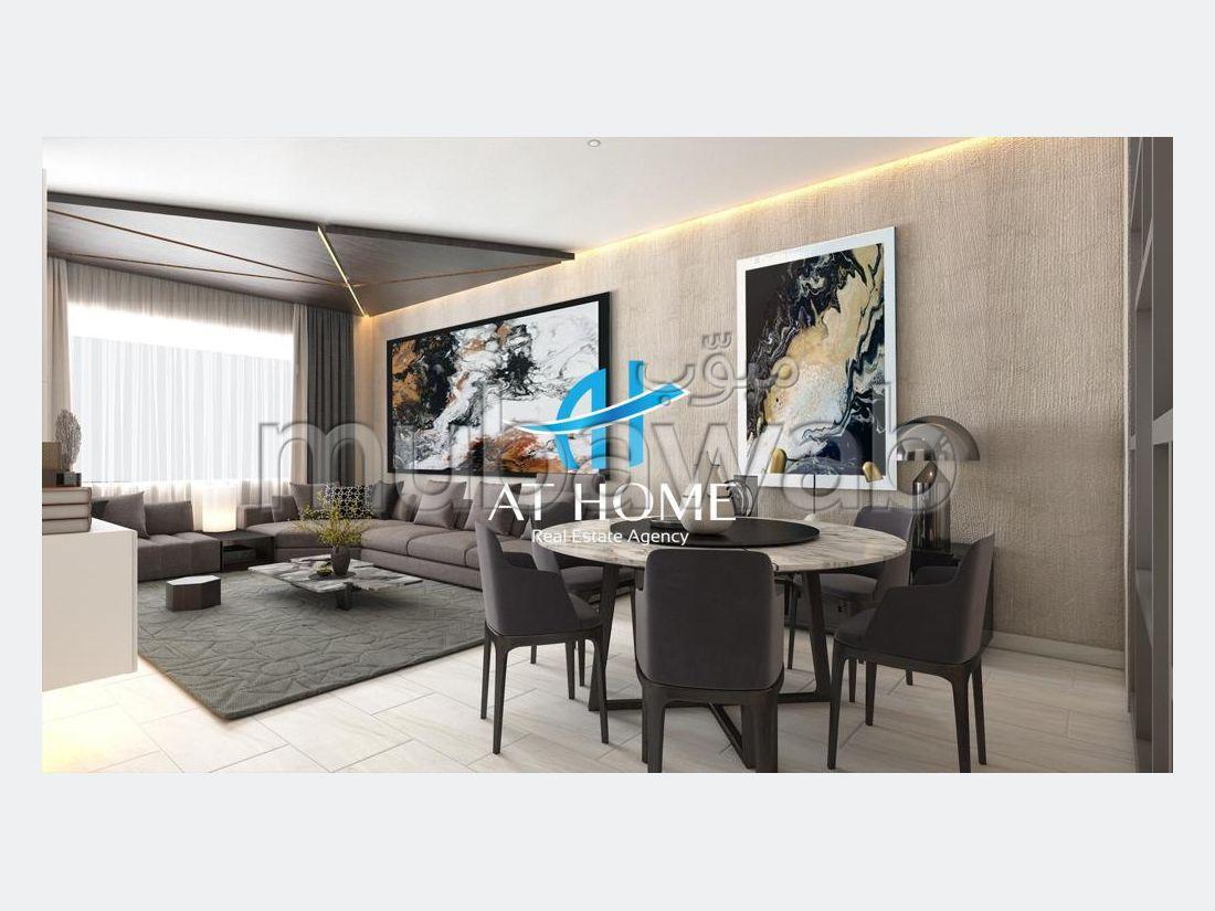 بيع شقة بملابطا. المساحة 108 م². شرفة ومصعد.