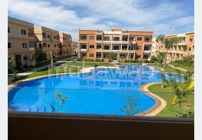 Sell apartment in Route d'Agadir - Essaouira. 3 Toilet. caretaker service available, Property with swimming pool.