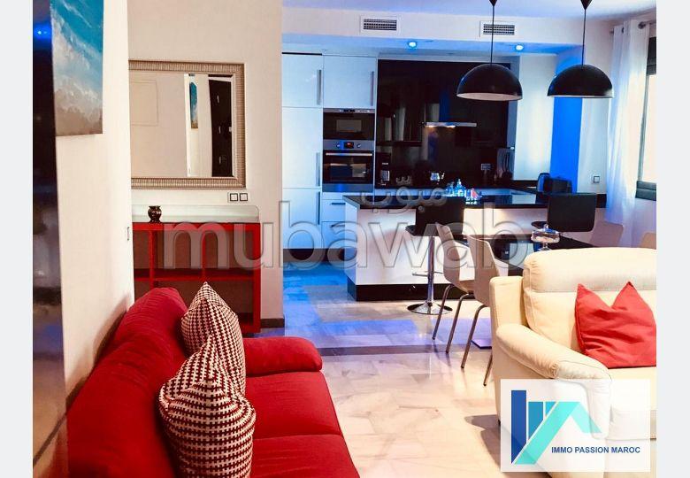 Appartement F4 à louer à Tanger Corniche