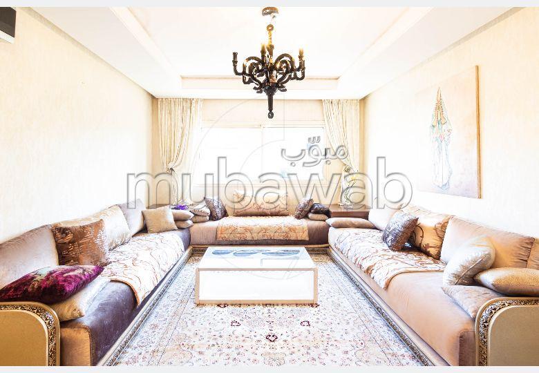 Vente meublé, Appartement moderne très peu habité