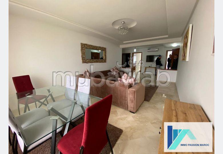 Joli appartement vue sur mer F4 à louer à Tanger