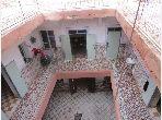 Vente riad avec 7 chambre de 272m² habi à sidi ben slimane marrakech médina