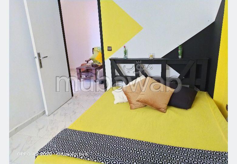 Très jolie studio en location à Rabat Agdal Meublé