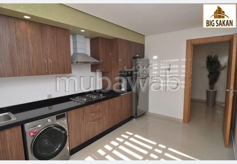 Vente d'un bel appartement à izdihar Marrakech. 3 pièces. Ascenseur et stationnement