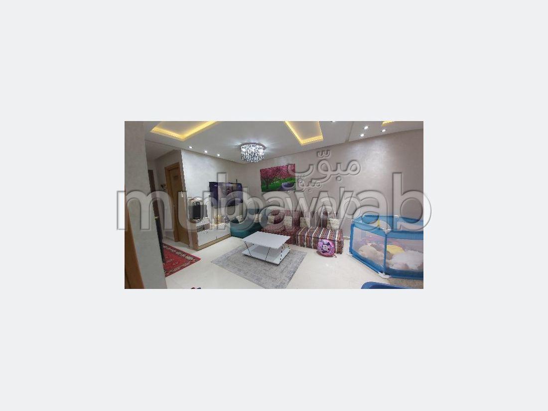 Appartement en vente à Kénitra. Surface de 119 m². Avec ascenseur et terrasse