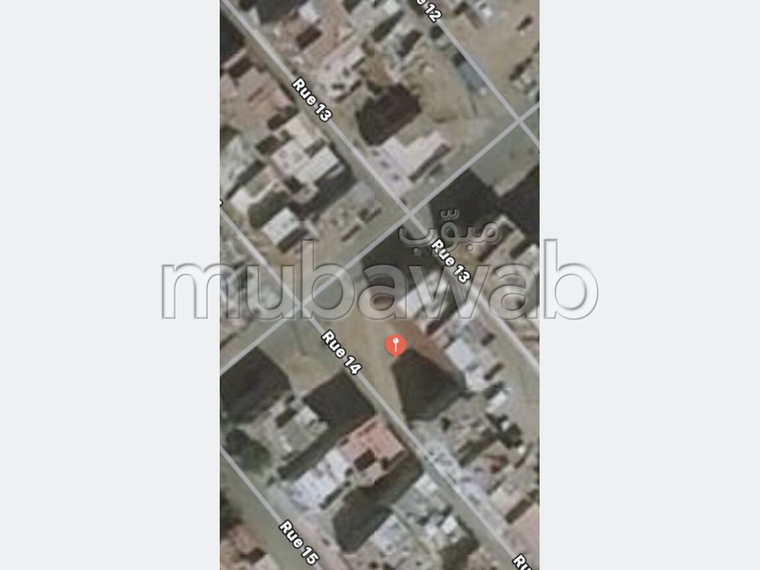 أرض ممتازة للبيع ب سيدي الخدير. المساحة الكلية 182 م².