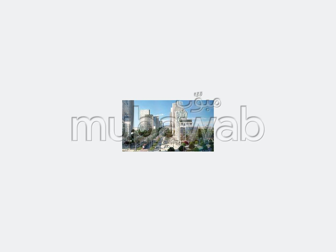Find an apartment to buy in Casablanca Finance City. 1 lovely room. Terrace and garden.