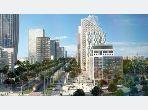 شقة جميلة للبيع ب الحي المالي للدار البيضاء. المساحة الإجمالية 65 م². مع مصعد ومنطقة خضراء.