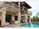 High quality villa rental in Amelkis. Small area 500 m². Furnished.