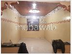 Apartment for sale in Hay Chmaou. 4 living areas. Secured door, furnished Moroccan living room.