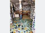 Se vende casa en Longchamps (Hay Al Hanâa). 7 habitaciones. Puerta blindada, salón tradicional marroquí.