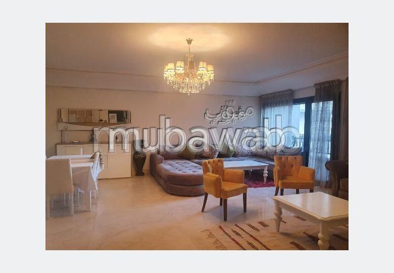 Splendide appartement meublé 135m2, Gueliz.