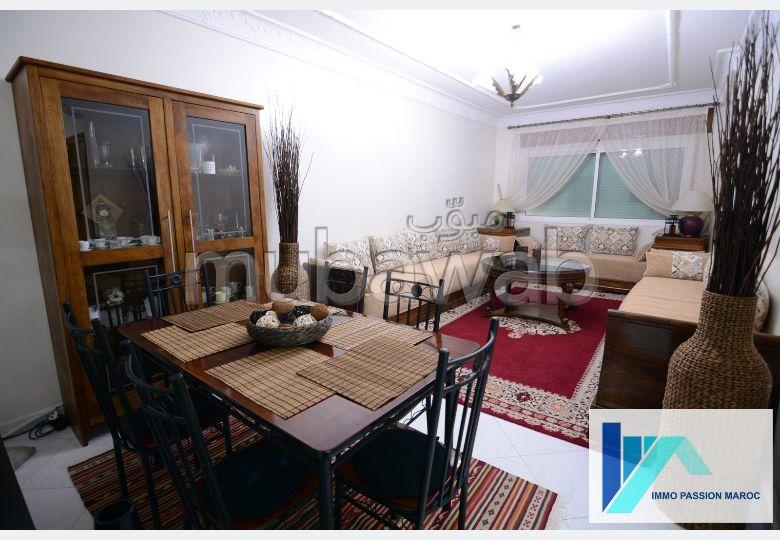 شقة للكراء ب الحي الإداري. المساحة 118 م². مفروشة.