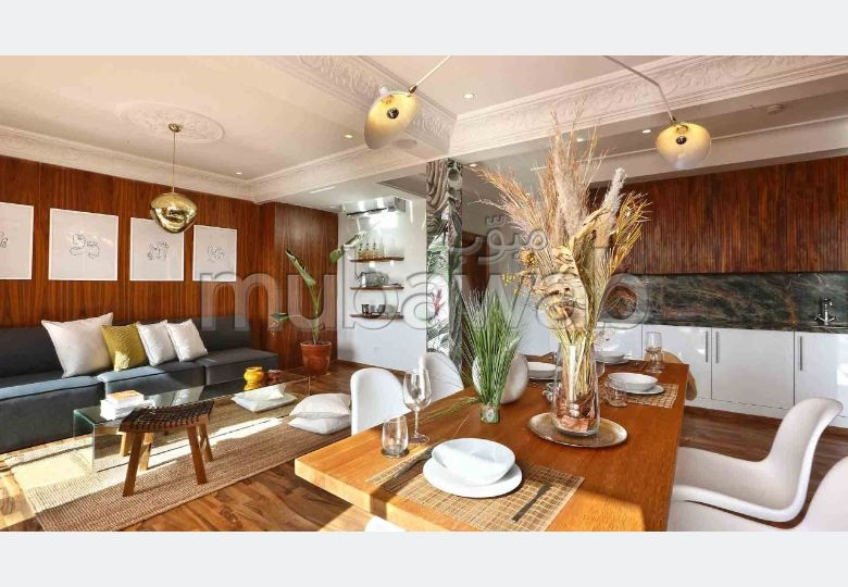 Apartment for rent in Hivernage. Area 93 m².