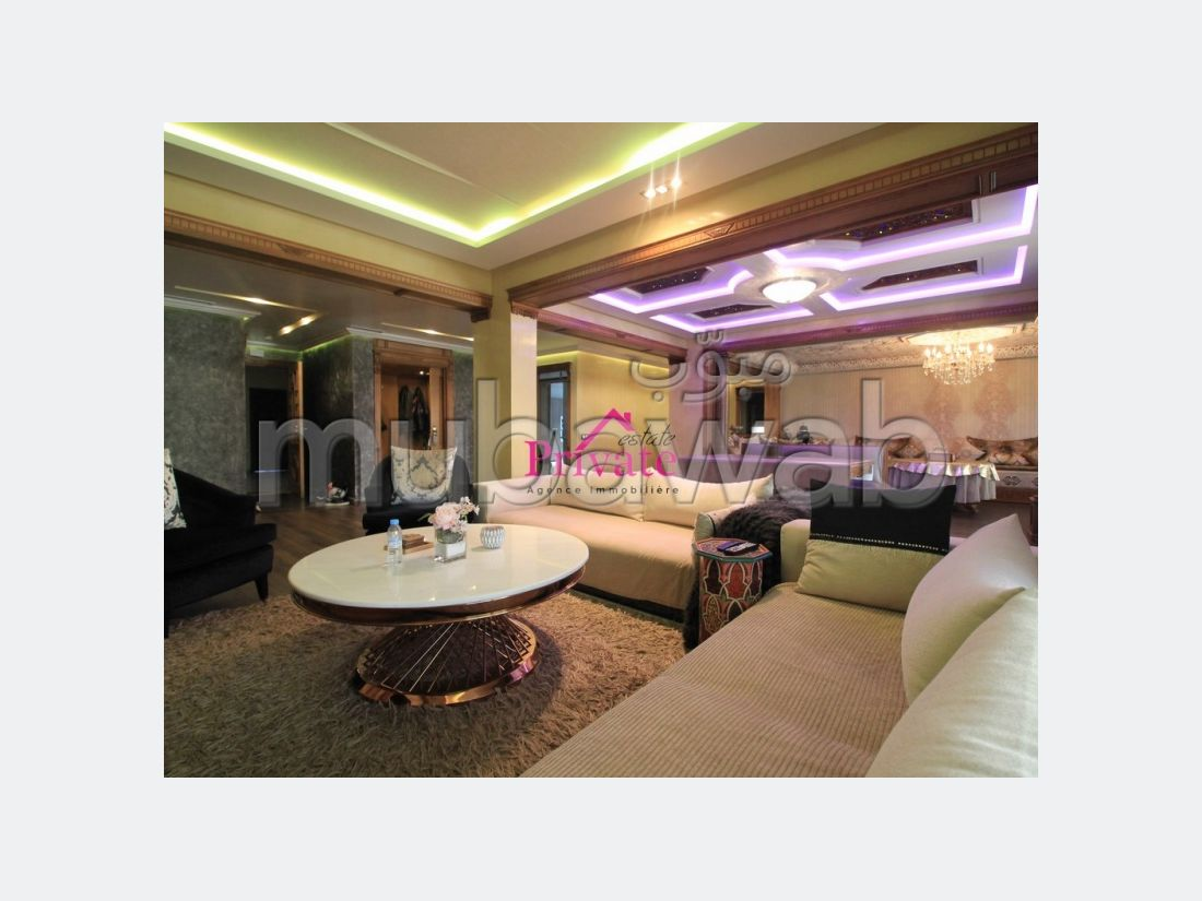 Apartment for sale in Bel Air - Val fleuri. 8 living areas. Terrace and garden.