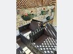 Se alquila este piso en Maârif. Superficie 50.0 m². Bien decorado.