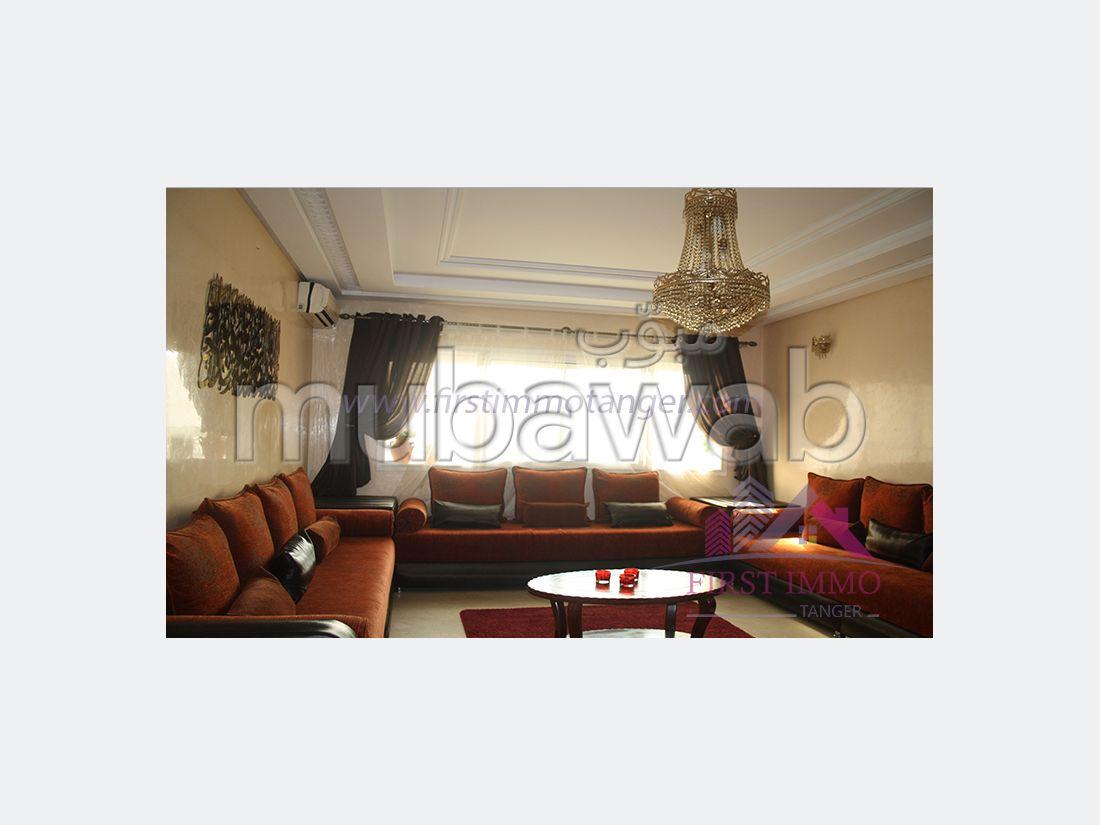 Appartement lumineux meublé à louer