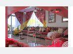 منزل ممتاز للبيع ب منار. المساحة الإجمالية 1109.0 م². صالون مغربي نموذجي ، إقامة آمنة.