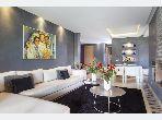 Joli appartement 2 chambres meublé moderne à Prestigia
