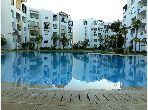 Vend appartement à Asilah. 1 chambre. Climatisation et piscine