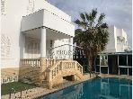 Une villa S+4 à La Marsa MVL0548