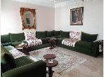 شقة رائعة للبيع بالمعاريف امتداد. 2 غرف جميلة. خدمة الكونسياج و المدفأة.