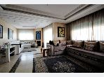 Beautiful apartment for sale in Maârif. 4 large living areas. Satellite dish system and secured residence.