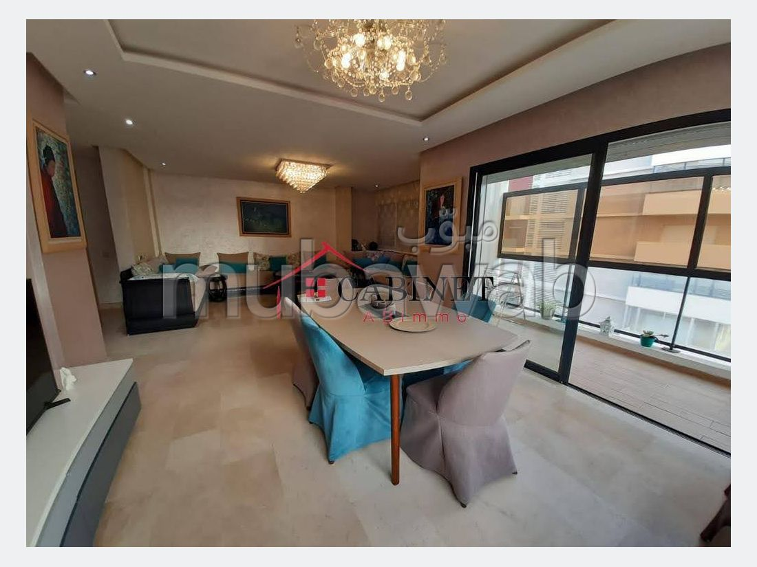 Magnifique Appartement meublé en vente à Hay Riad