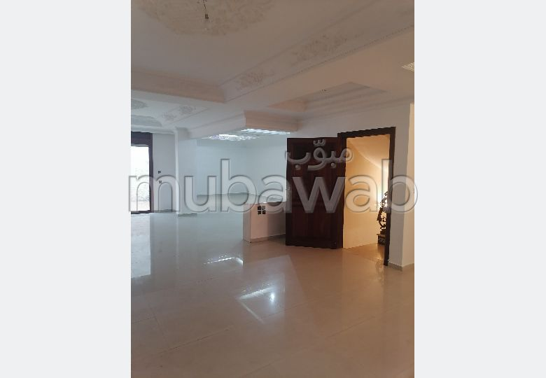 Beautiful house for sale in Sidi Maarouf. Area 122 m². Moroccan living room and satellite dish.
