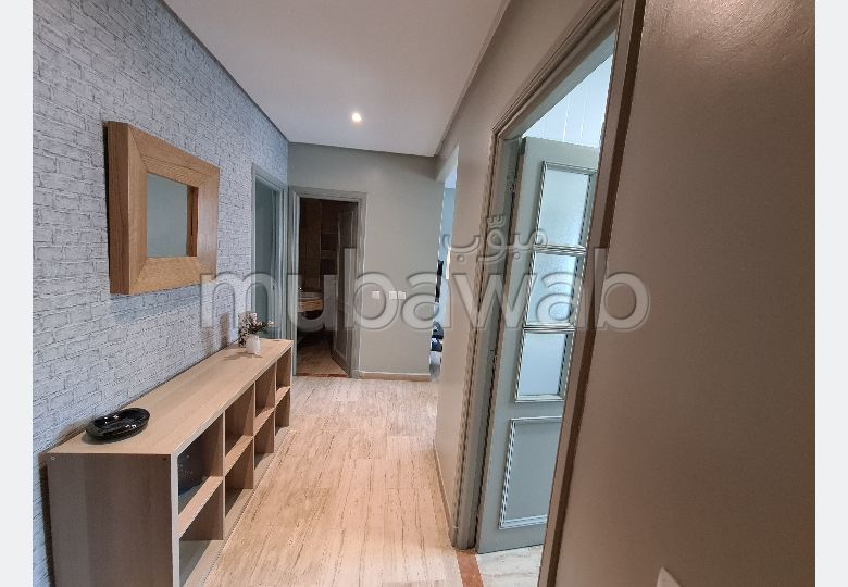 Apartment for rent in Maârif. Total area 41 m². Furnished.