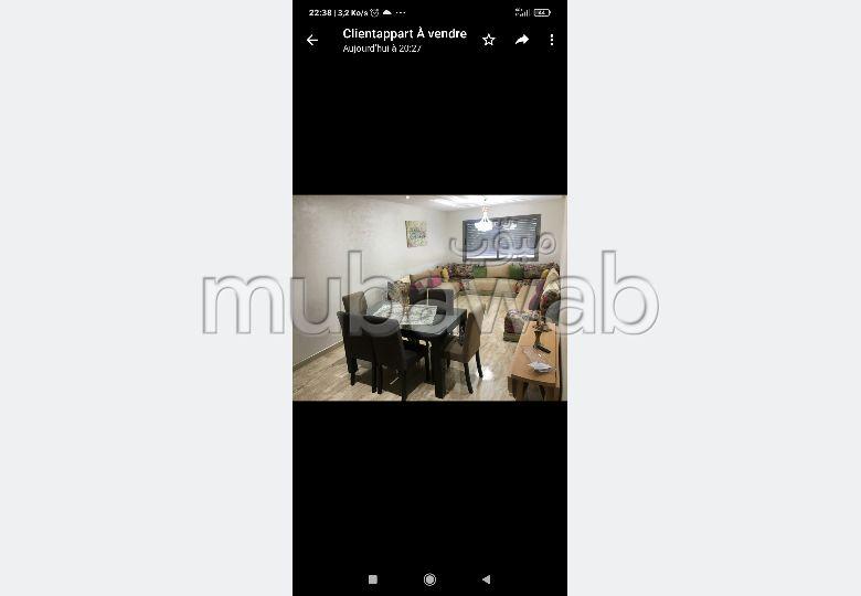 Appartement à l'achat à Dar Bouazza. Surface totale 92 m². Cuisine bien équipée