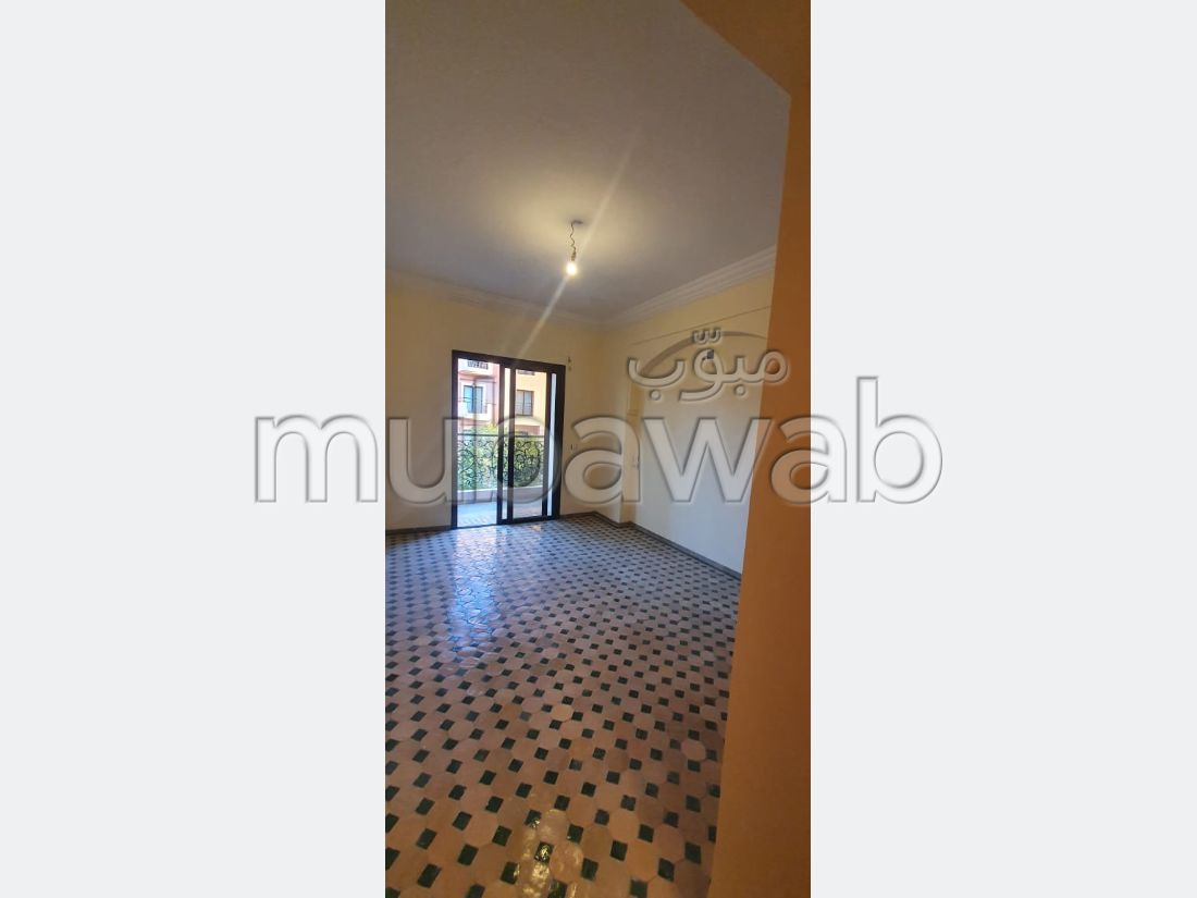 Very nice apartment for rent in Hivernage. 3 Halls. Lift and parking.