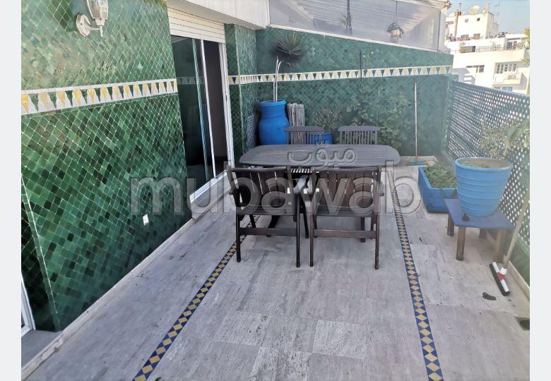 Appartement avec terrasse sans vis à vis au dernier étage à Gauthier