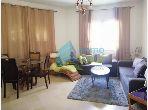Appartement S+2 de 100 m² meublé à la Marsa