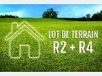 Terrain 490m² zone r+2 commercial rabat
