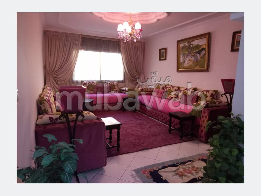 Appartement terrasse 124m² Bourgogne 1,4 Mdh