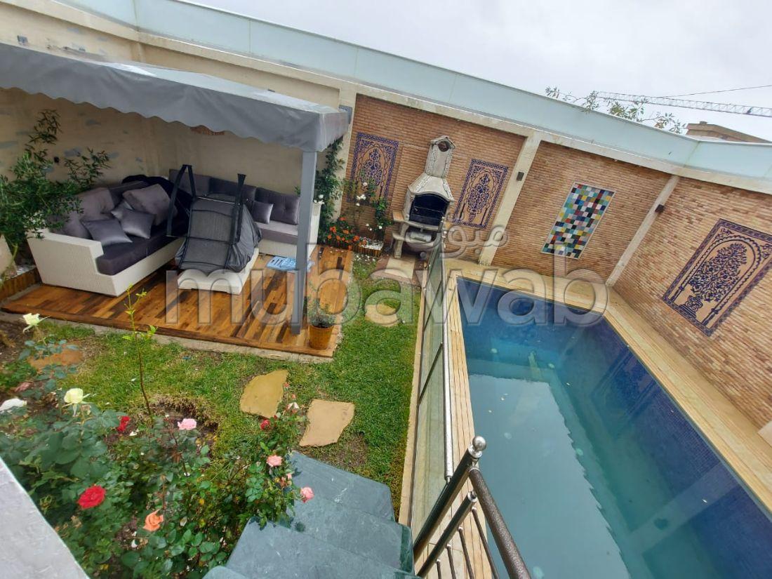 Luxueuse villa a vendre à malabata
