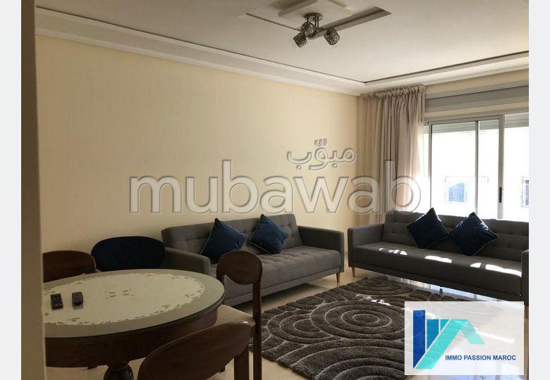 Appartement F3 meublé à Tanger Mozart