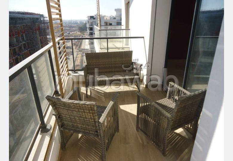 Bel appartement meublé à Hay Riad Prestigia