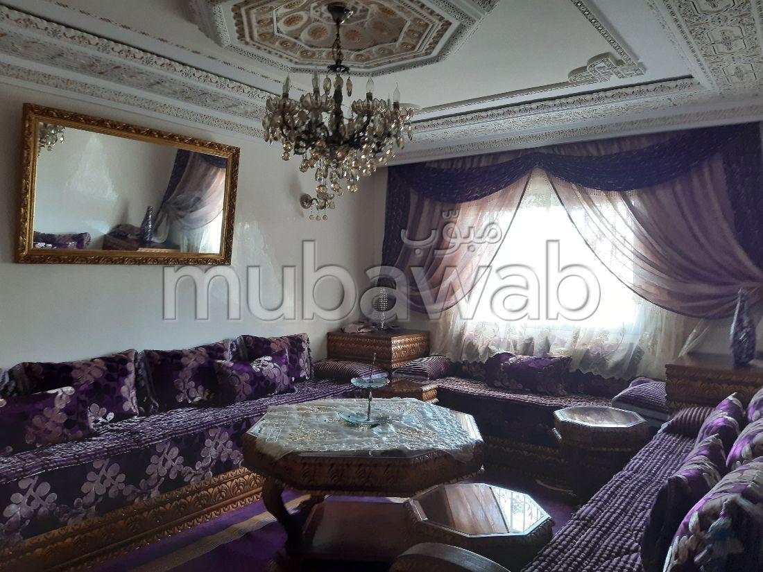 شقة رائعة للبيع بطنجة. المساحة الكلية 87 م²